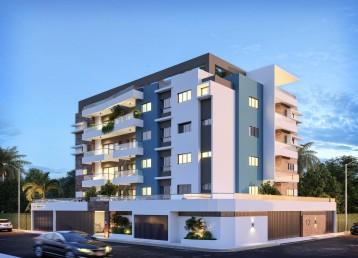 Hermoso y moderno proyecto de apartamentos en planos