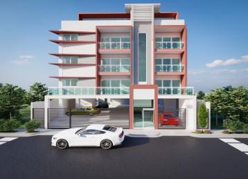 Proyecto de apartamentos en exclusiva urbanización de la independencia