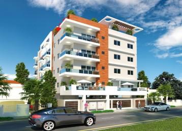 Proyecto de apartamentos próximo al mirador sur