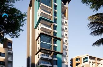 Atractivo Proyecto De Apartamentos En Alma Rosa I