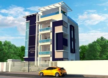 Hermoso proyecto residencial con fachada moderna
