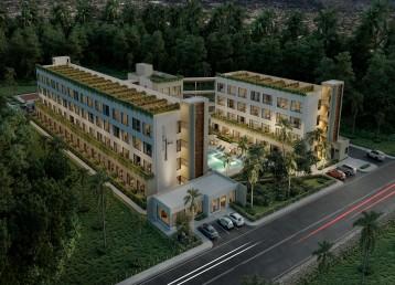 🏢🌴🏢*Vanguardista complejo residencial con apartamentos totalmente amueblados*🏢🌴🏢