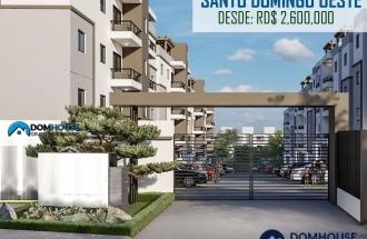Proyecto De Apartamentos En Santo Domingo Oeste