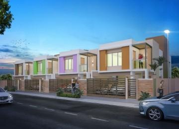 Moderno Proyecto Residencial de casas