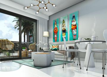 Vanguardista complejo residencial en privilegiada ubicación, a 5 minutos de la playa