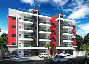 Hermoso y exclusivo proyecto residencial con fachada moderna